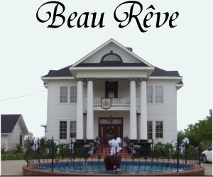 Beau Reve Port Arthur, Beau Reve Port Arthur romantic dining, wedding venue Port Arthur, wedding venue Groves Tx, wedding venue Port Neches, wedding venue Nederland Tx, wedding venue Mid County Tx, wedding magazine Beaumont Tx, bridal fair Beaumont TX