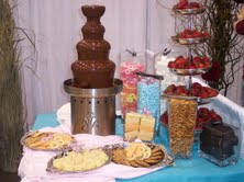 chocolate fountain Southeast Texas