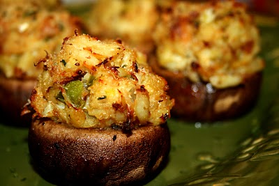 Garden District Crab Stuffed Mushrooms