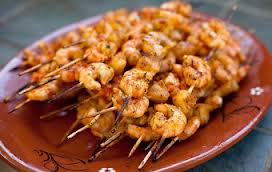 Garden District Kabob Shrimp