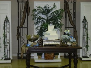 Garden District cake station - Southeast Texas caterer - Southeast Texas wedding venue