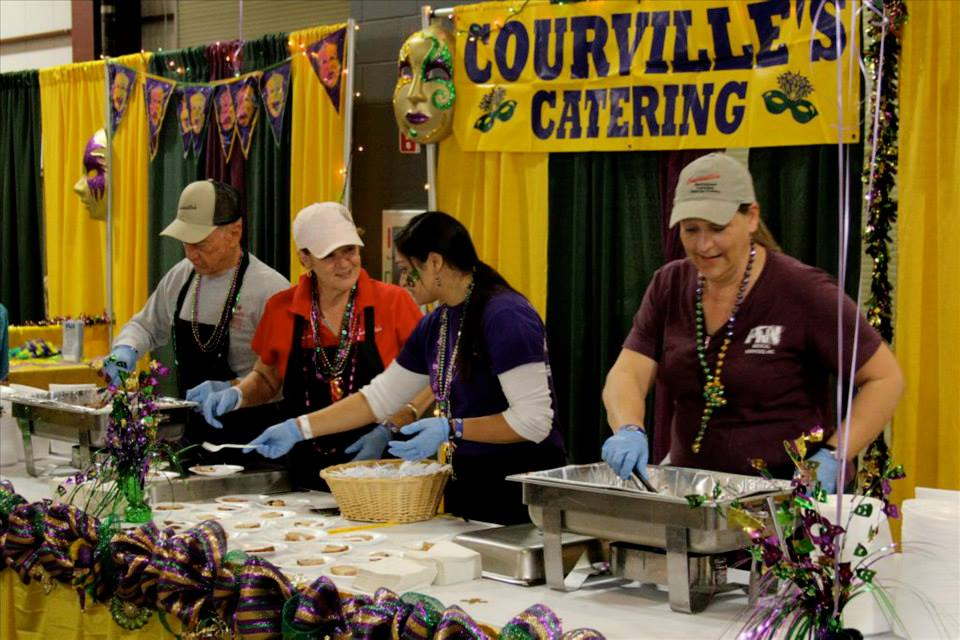 Taste of the Triangle 2014 Beaumont Civic Center 2 Courville's Catering Beaumont