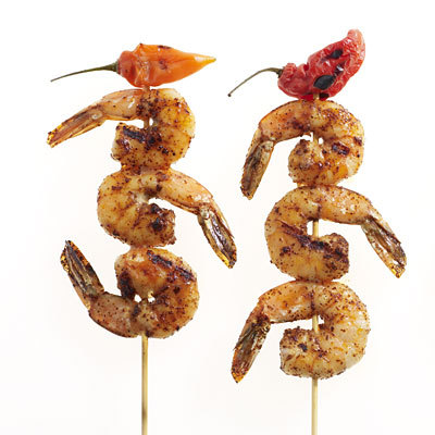 South Texas State Fair Food Shrimp on a Stick