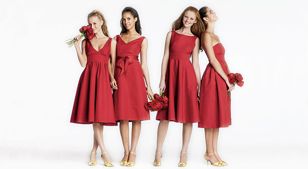 bridesmaid dress Beaumont b