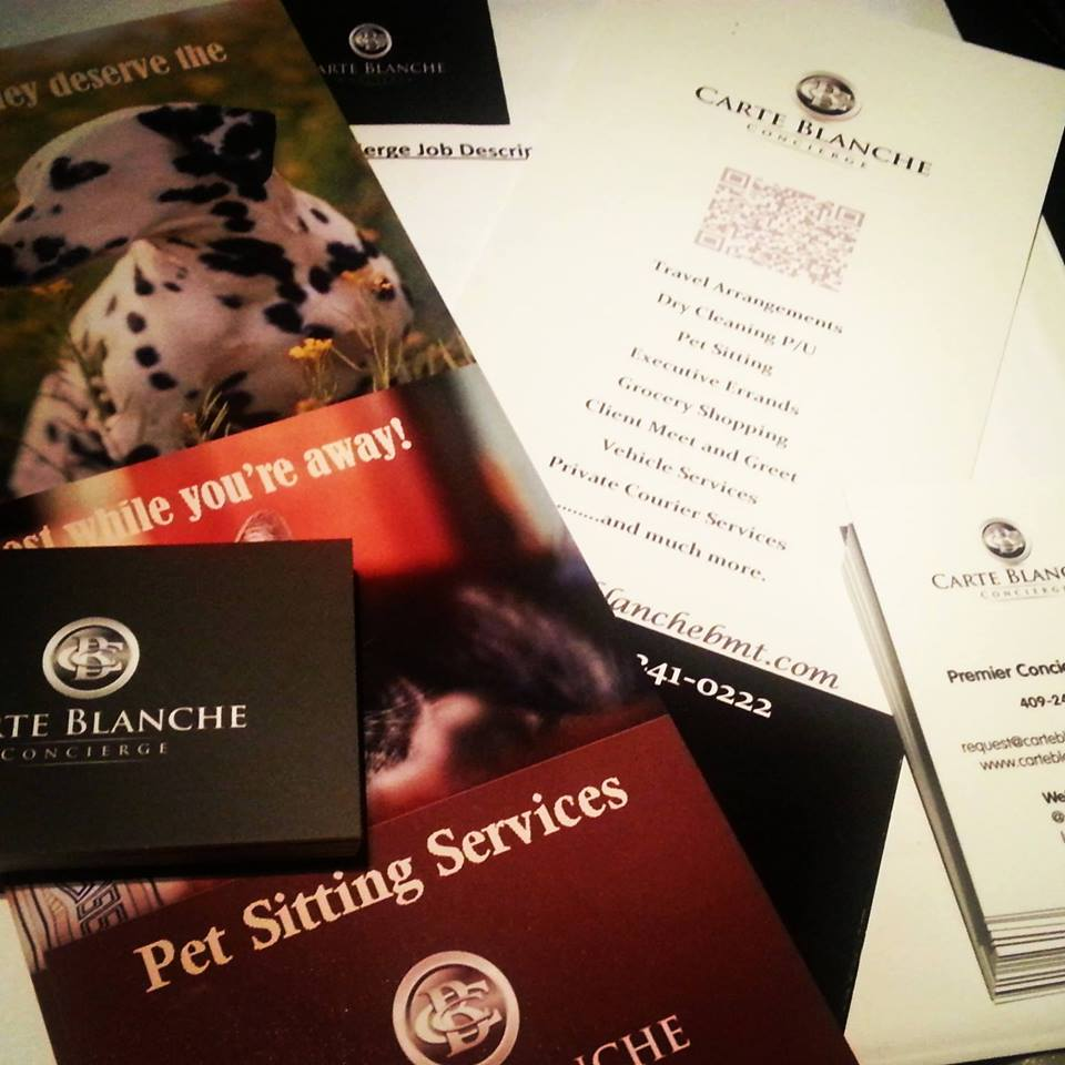 Carte Blanche Beaumont Pet Sitter