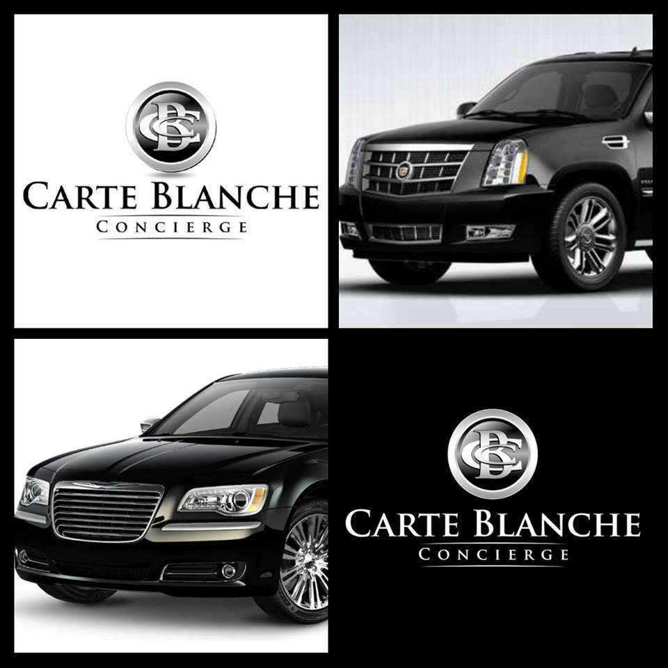 Carte Blanche Beaumont Wedding Limo