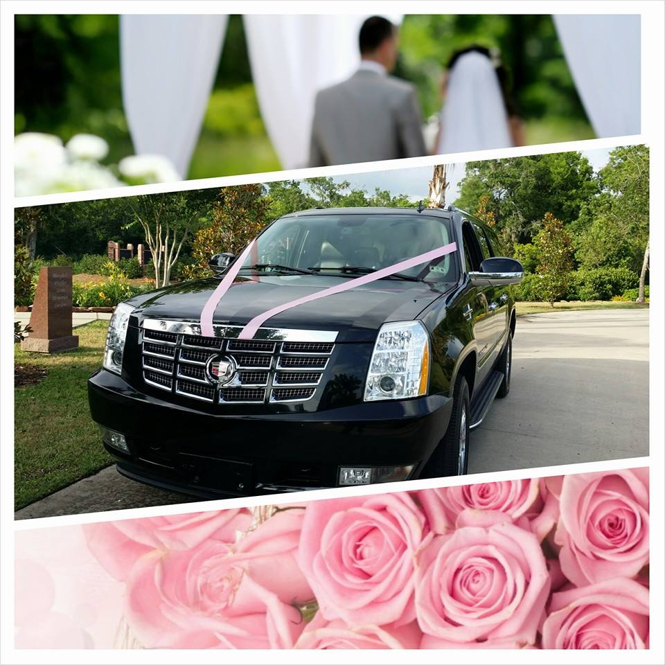 Carte Blanche Lumberton Wedding Limo