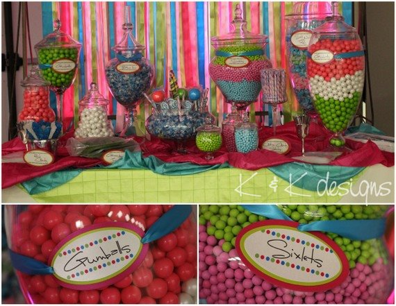K&K Beaumont candy stations