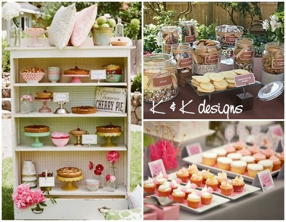 K&K Designs Beaumont Candy Cupcake Bar