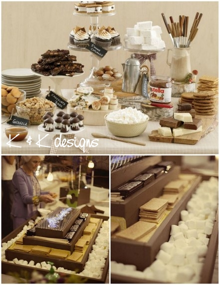 K&K Designs Beaumont Candy Smores Station