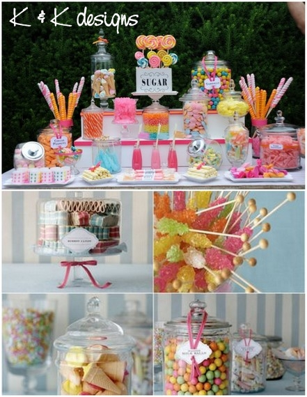 K&K Designs Beaumont Candy Station