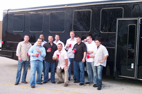 Bachelor Party car service Beaumont Tx