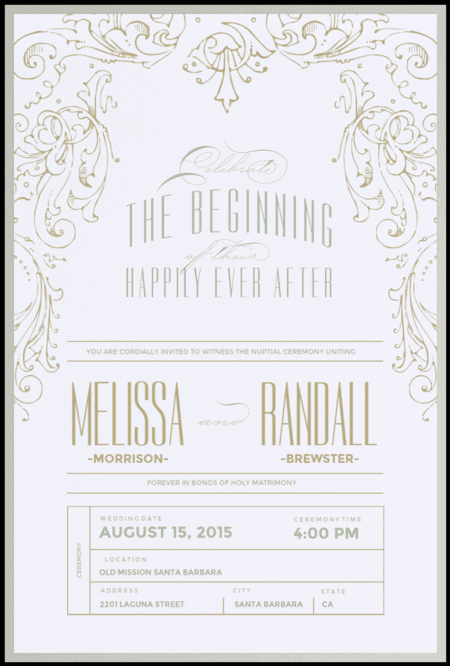Wedding Invitations Lake Charles LA