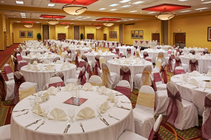Holiday Inn Beaumont, wedding hotel SETX, wedding reception venue Beaumont TX