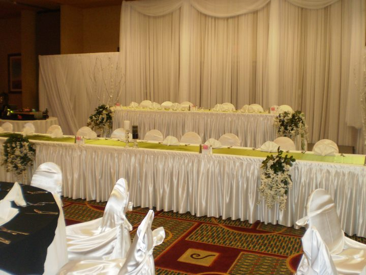Holiday Inn Beaumont wedding reception planning