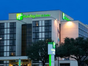 Holiday Inn Beaumont wedding venue banner