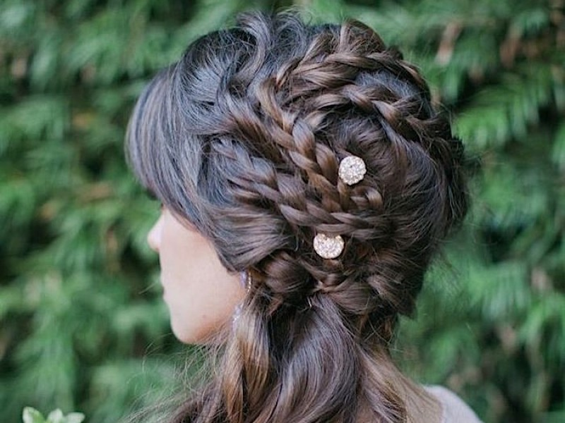 Beaumont wedding hair idea