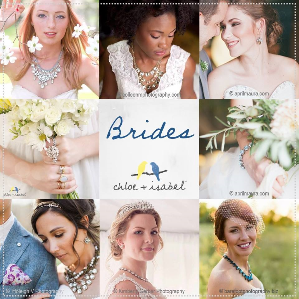 Chloe + Isabel wedding jewelry Groves Tx