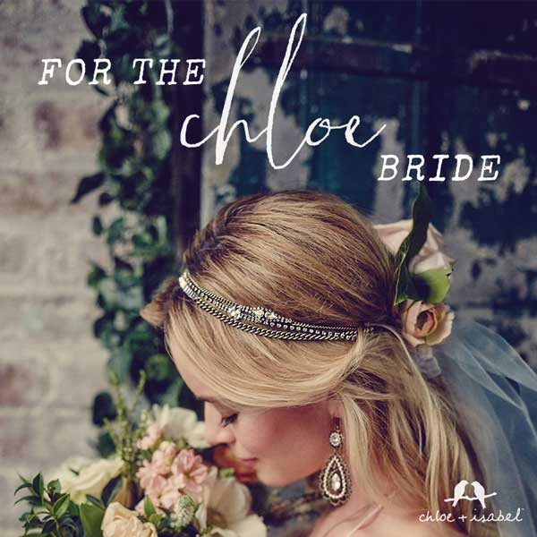 Chloe + Isabel wedding jewelry Silsbee