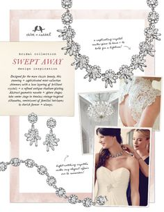 Chloe and Isabel Golden Triangle wedding jewelry