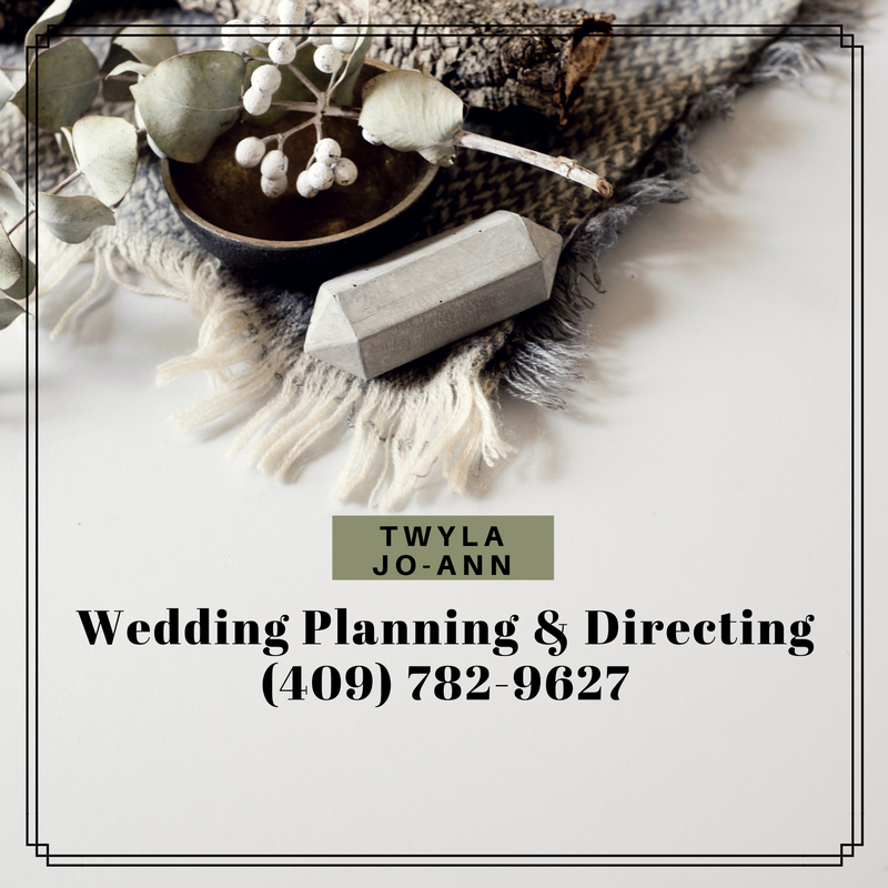 Twyla George Beaumont TX, Twyla Jo-Ann Wedding Planning, Twyla JoAnne wedding planner, wedding planning Lumberton Tx, wedding planning Vidor, wedding planning Silsbee