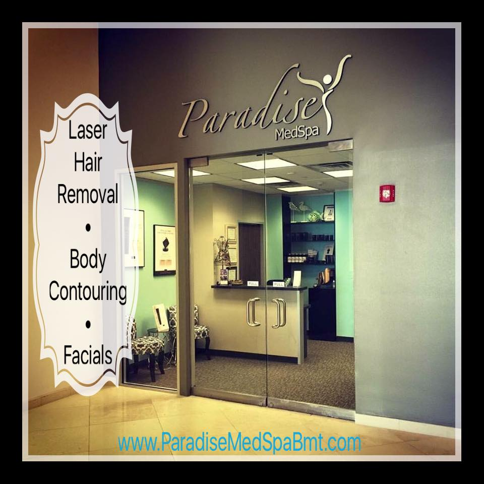 medical spa Beaumont, laser hair removal downtown Beaumont TX, Golden Triangle body contouring, day spa gift certificate Beaumont TX