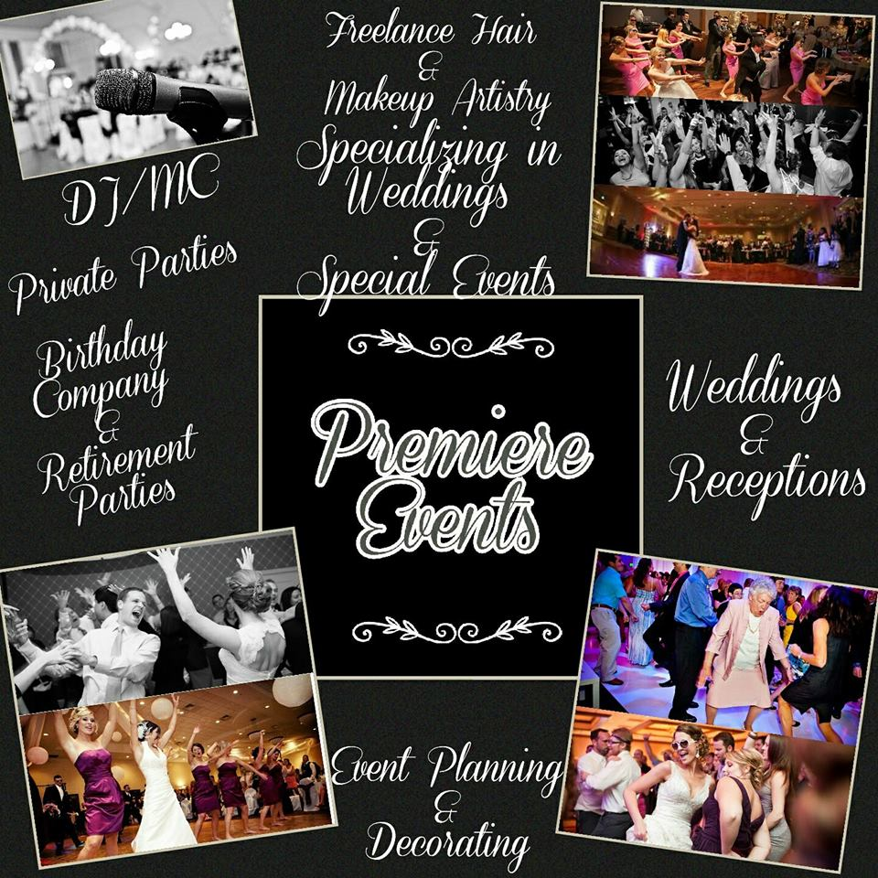 wedding DJ Beaumont TX, wedding hair stylist Beaumont TX, wedding DJ Southeast Texas, wedding hair stylist Southeast Texas, Premier Events Beaumont