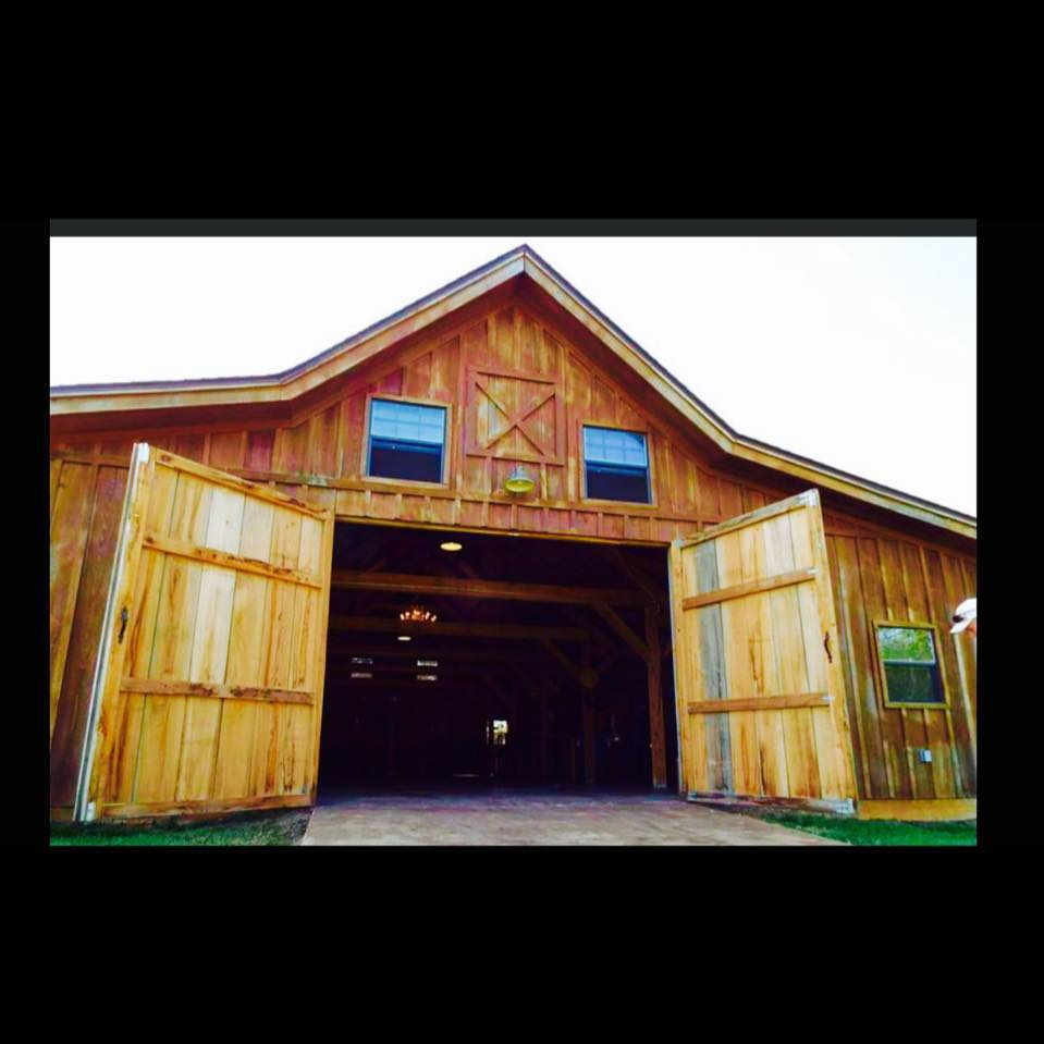 Wedding Barn Jasper County Tx Southeast Texas Setx